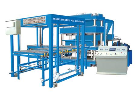 苏州免烧砖机设备生产厂家-选购质量可靠的全自动防火保温板成型机就选华闰天元机械