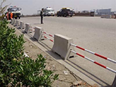 混凝土隔离墩厂家_地山秀美栏杆提供有品质的混凝土隔离墩