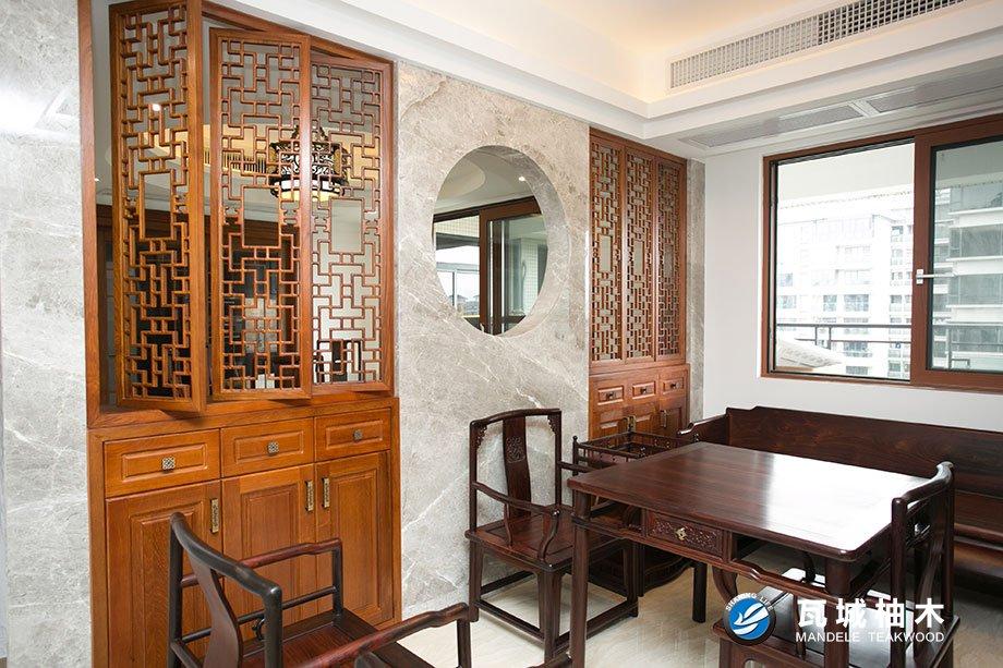 广州地区品质好的广州瓦城柚木_售卖广州柚木(门、衣柜、楼梯)