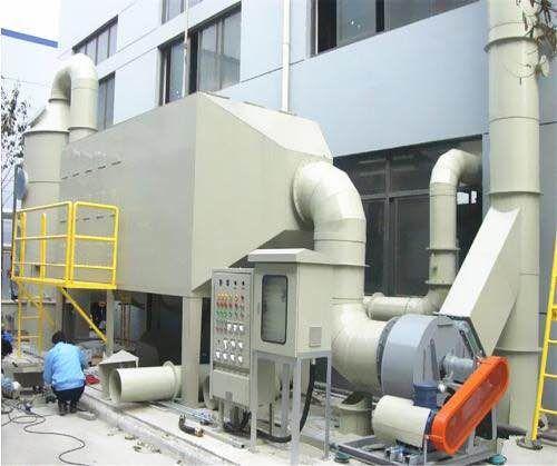 广东空气净化设备深圳酸雾喷淋塔生产厂家除尘设备直销