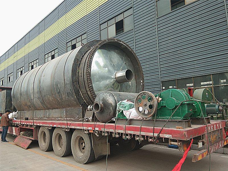 商丘二手炼油设备吗-物超所值的废机油炼油设备亚科环保机械设备供应