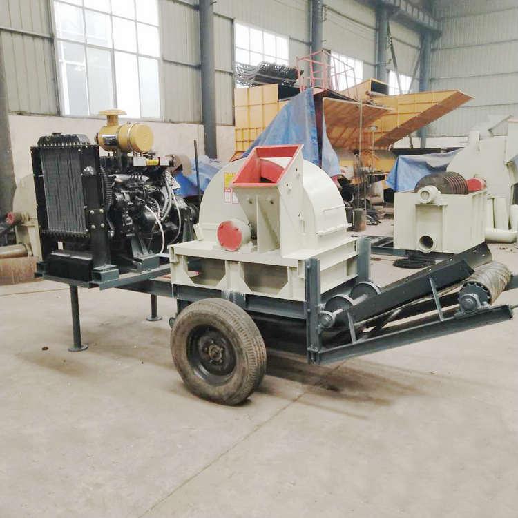 鄭州炎運機械設備專業供應木屑粉碎機 硬雜木打木屑機多少錢
