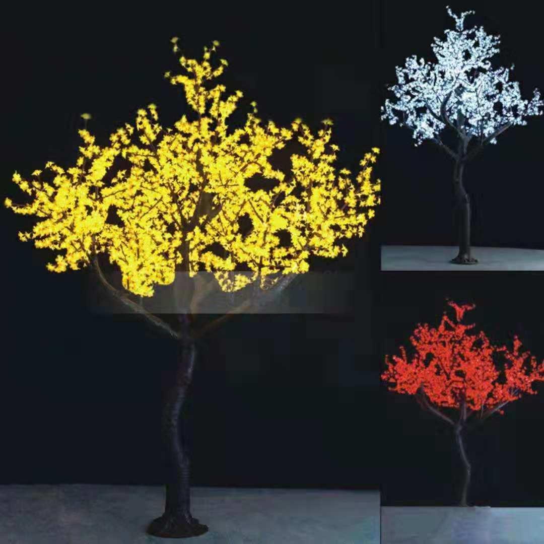 led彩树灯图片专业的彩树灯益庆灯饰供应