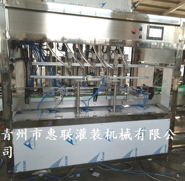 清洗剂灌装线洗洁精灌装生产线清洁剂灌装设备