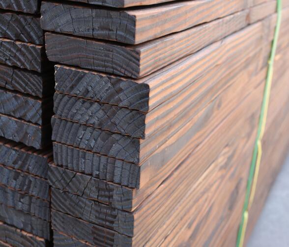 广西炭化防腐木批发|南宁价格适中的碳化木
