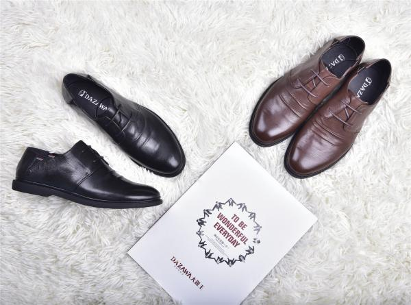 大趾王皮鞋厂家招商加盟-男鞋品牌好_知名的大趾王皮鞋供应商当属大指王鞋业