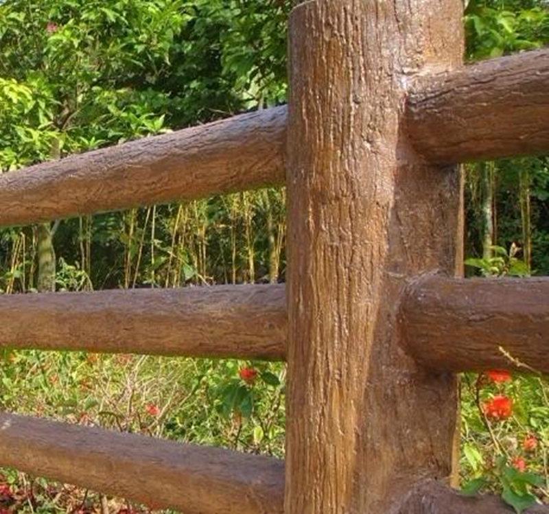 鎮安仿石護欄廠家-口碑好的商洛仿木欄桿供應