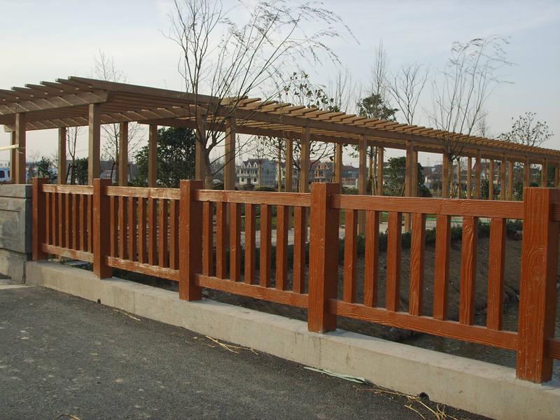 佳縣仿木水泥欄桿廠家-在哪能買到質量有保障的榆林仿木欄桿呢