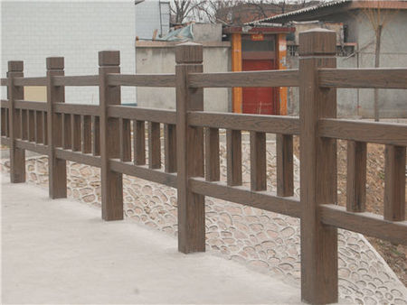 榆林仿竹欄桿哪家好-出售榆林物超所值的榆林仿木圍欄