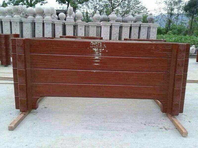 渭城仿木花箱价格 毅力景观供应优良的咸阳仿木花箱