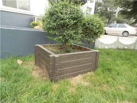 米脂仿木水泥花盆品牌-陜西哪里供應的榆林仿木水泥花箱品質好