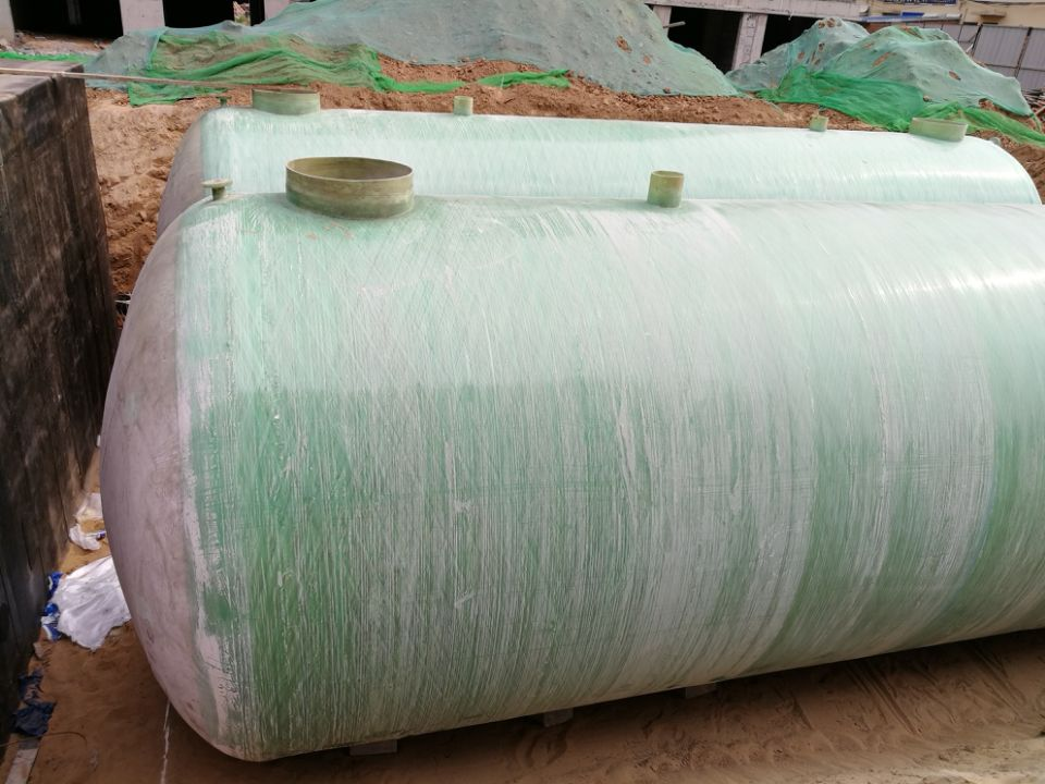卧式玻璃钢储罐