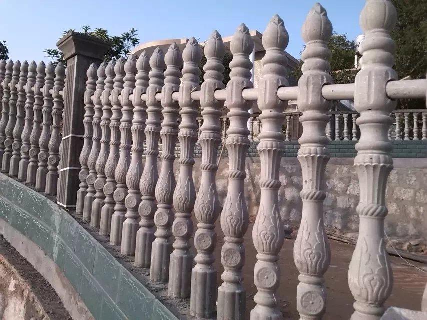 咸阳庭院围栏价格-买质量好的咸阳艺术水泥围栏优选毅力景观