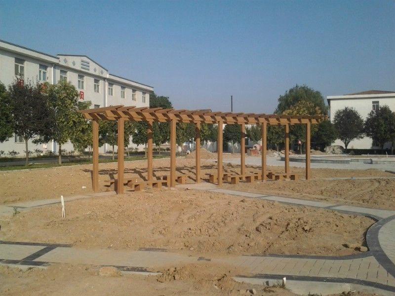 山阳防腐木廊架定制-实惠的商洛仿木廊架商洛哪里有