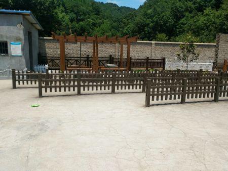 子洲仿木柵欄-哪里可以買到質量好的草坪護欄