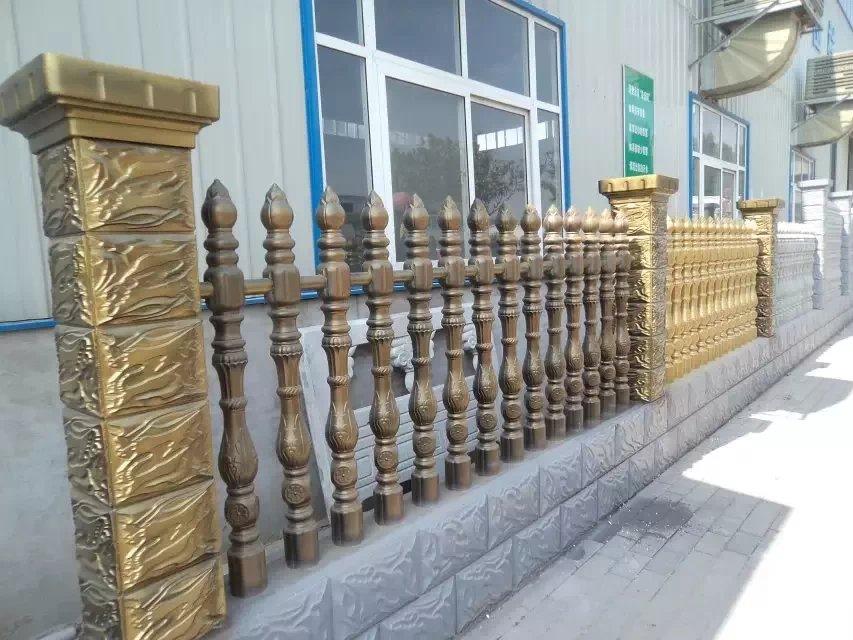 眉縣水泥藝術圍欄價格_品質好的寶雞藝術水泥圍欄哪里有