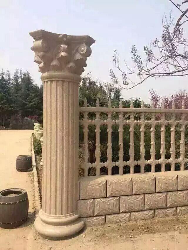扶风廊柱围栏价格-西安超值的宝鸡艺术水泥围栏哪有卖