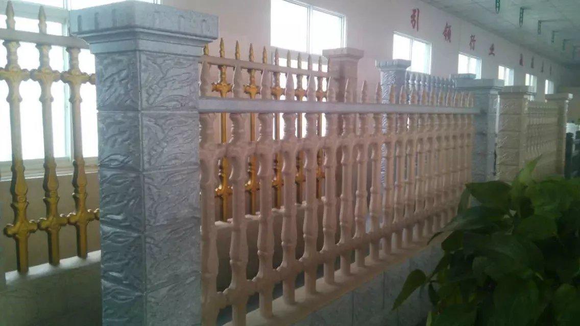 西安廊柱圍欄廠家-為您推薦毅力景觀材料品質好的藝術水泥圍欄