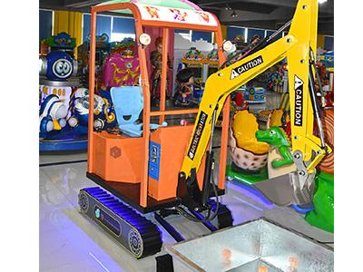 扬州儿童挖掘机厂家-流行游乐挖土机推荐
