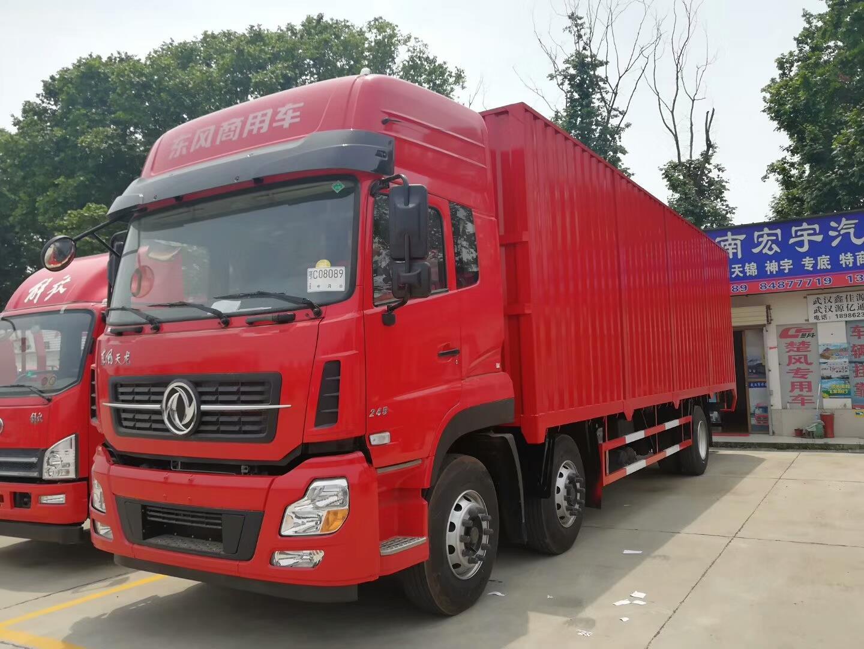 如何选购东风天龙-选销量好的东风天龙厢式货车,就到江南宏宇汽车