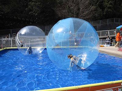 旋转木马-供应扬州水上步行球