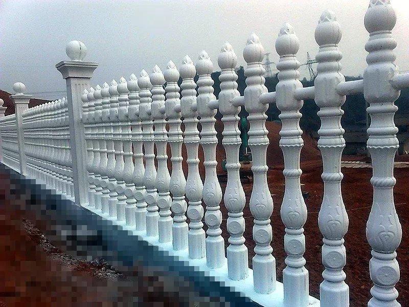 汉台欧式构件栏杆定做-陕西哪里供应的艺术水泥围栏优良