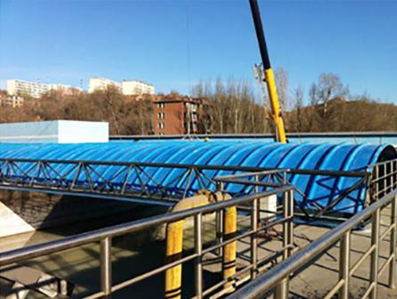玻璃钢污水池罩价格-供应山东玻璃钢污水池罩