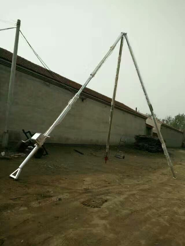 霸州双利口碑好的立杆机出售-三脚架立杆机厂家批发