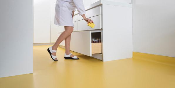 广西PVC塑胶地板_洁福塑胶地板柏莱优尼舒适