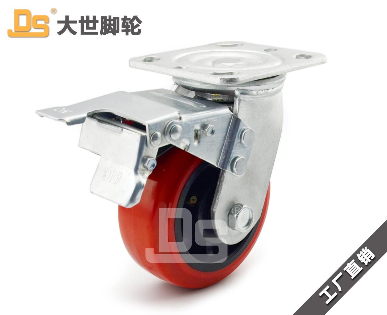 塑料芯pvc脚轮厂家-青岛哪里有供应塑料芯pvc脚轮