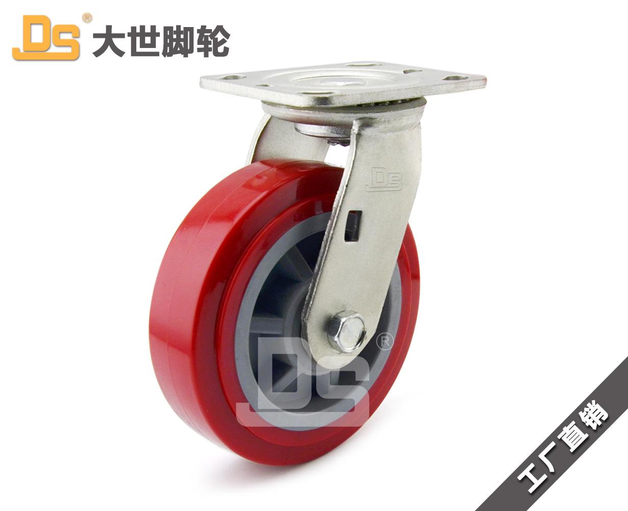 山东塑料芯pvc脚轮厂家地址|性价比高的塑料芯pvc脚轮推荐