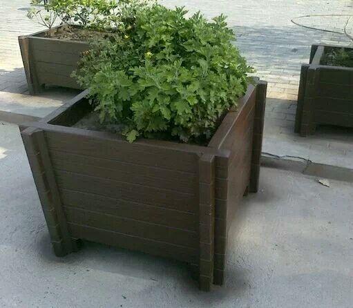 西安仿木花箱