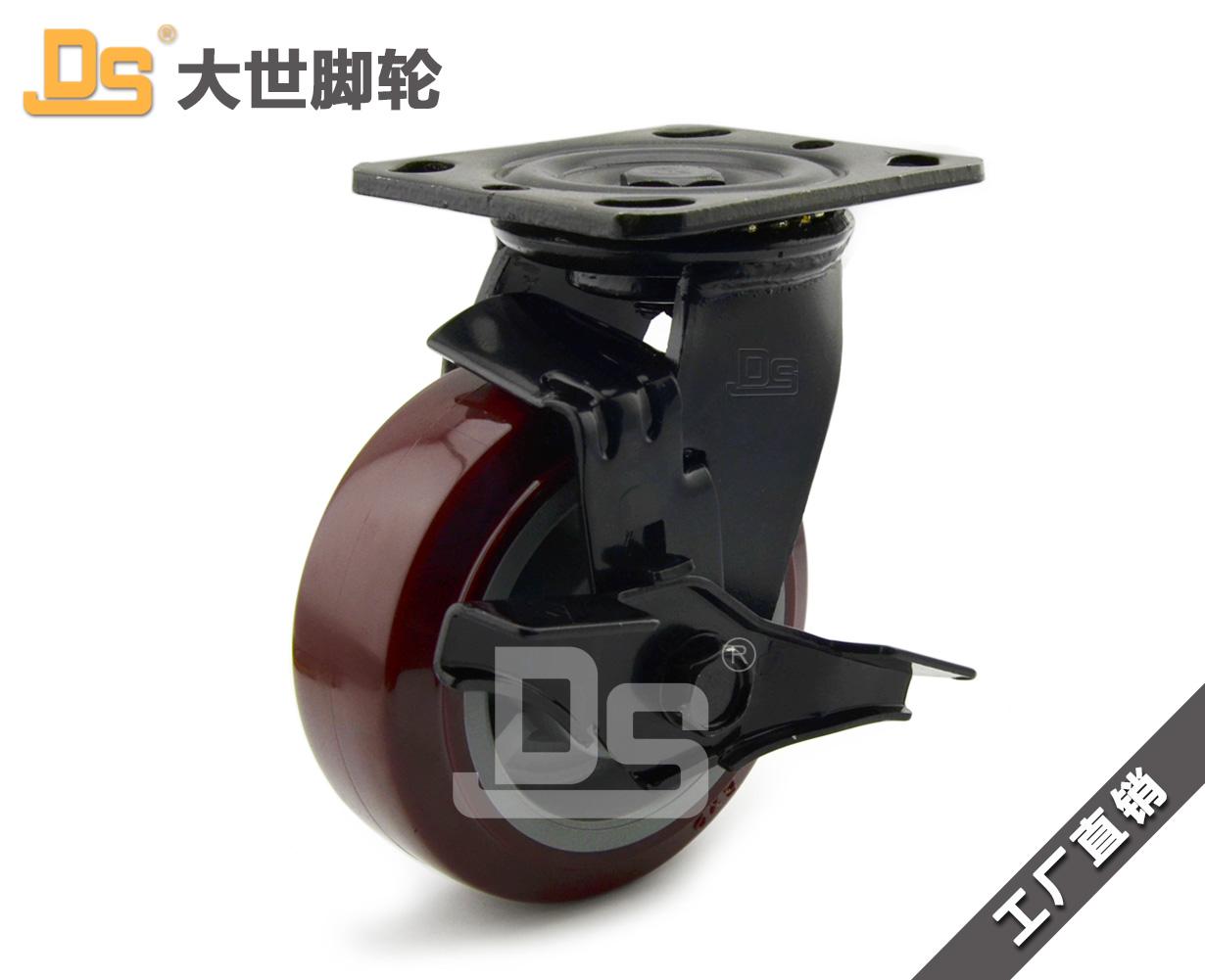 塑料芯聚氨酯脚轮-塑料芯聚氨酯脚轮厂家-塑料芯聚氨酯脚轮电话