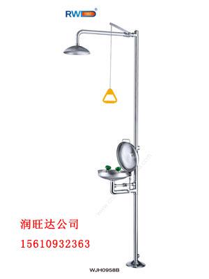 鄭州復合式噴淋洗眼器廠家 潤旺達 山東洗眼器價格