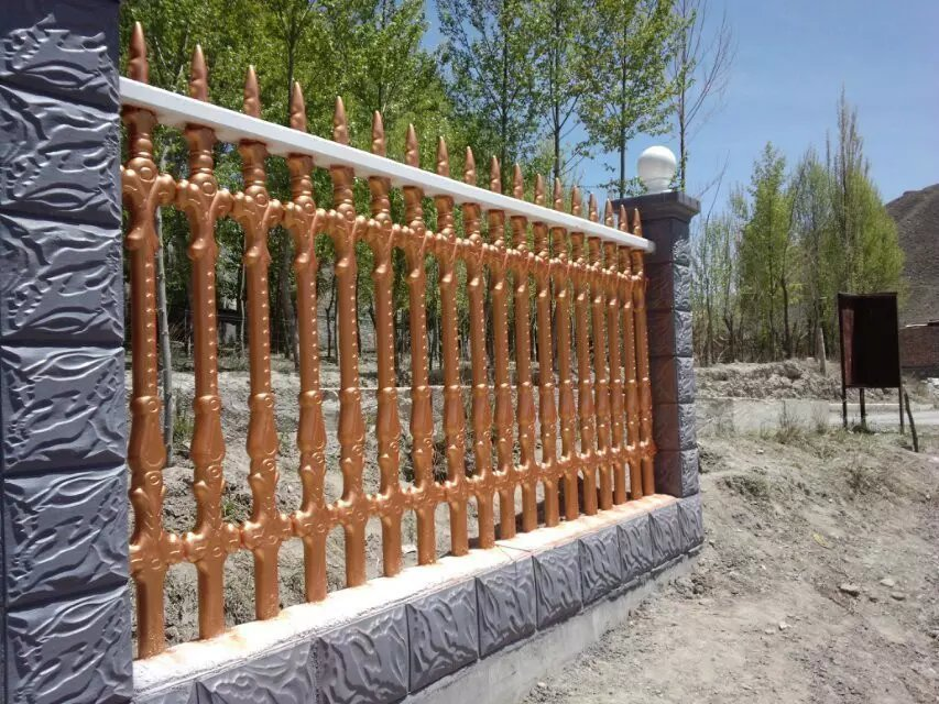 西安艺术水泥围栏