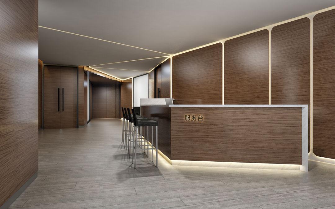 榆林办公室内装修设计-DCV第四维设计经典案例