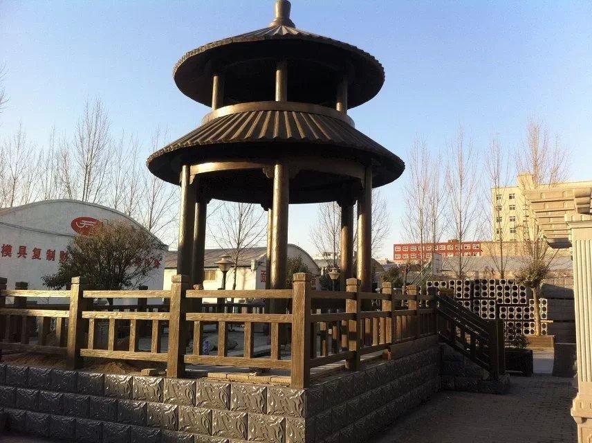 合阳县园林桌椅批发_要买仿木廊架当选毅力景观材料