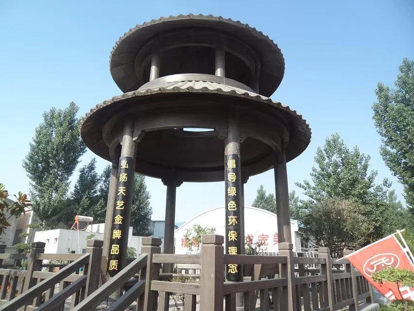 澄城县园林小品定制_高品质仿木廊架推荐