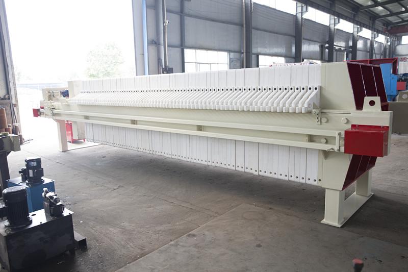 高浓度有机废水处理专用压滤机,1250系列厢式压滤机