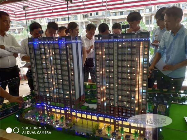 廣西建筑模型沙盤房地產售樓模型