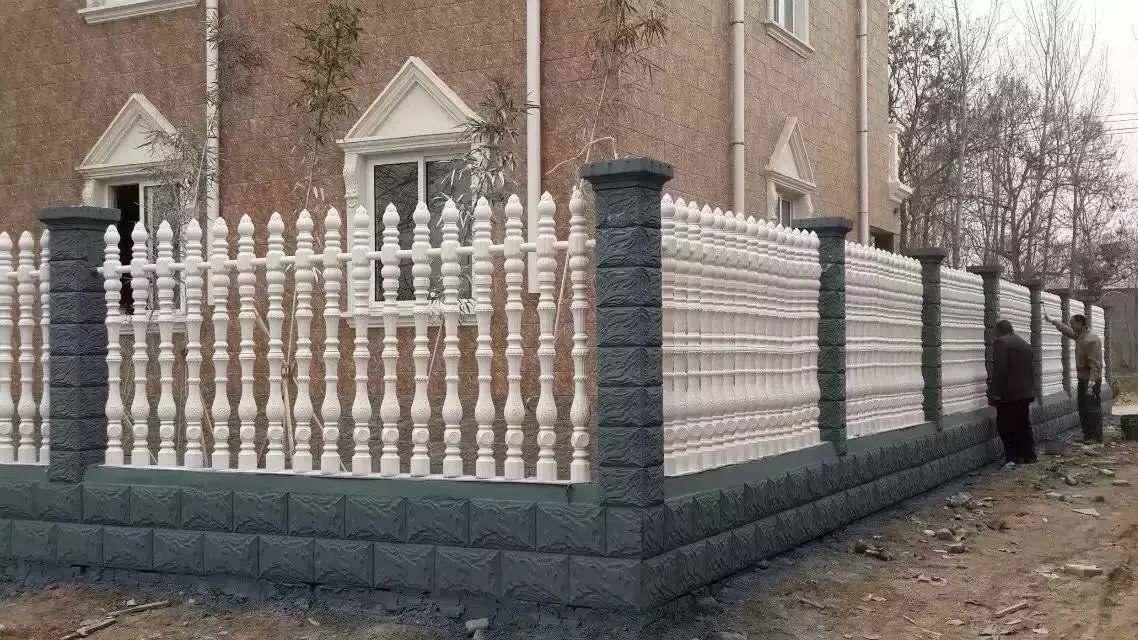 耀县水泥艺术围栏定做-长期供应艺术水泥围栏