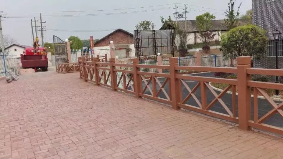 安康仿竹护栏厂家-为您推荐安康毅力景观有品质的安康仿木围栏