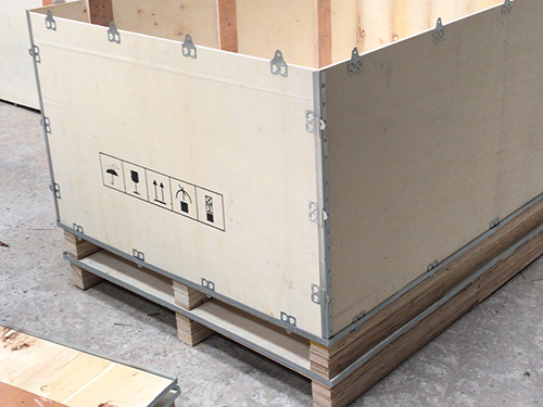 钢带木箱|供应广东木箱