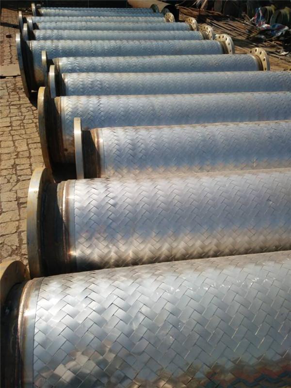 江西大口径金属软管-通用法兰式金属软管供应厂家