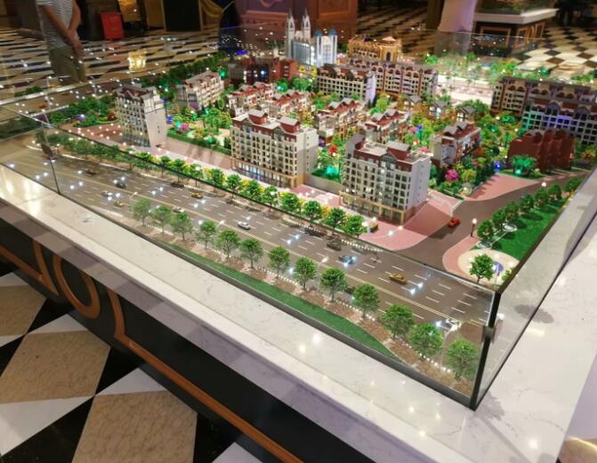 广西房地产模型_南宁建筑沙盘模型制作
