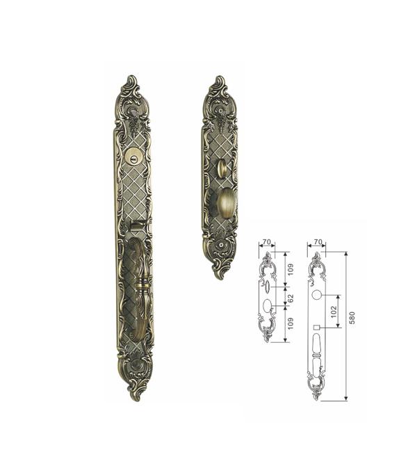 室内防盗锁供应商-广东哪里可以买到高质量的豪宝五金HB-B03-W锌合金门锁
