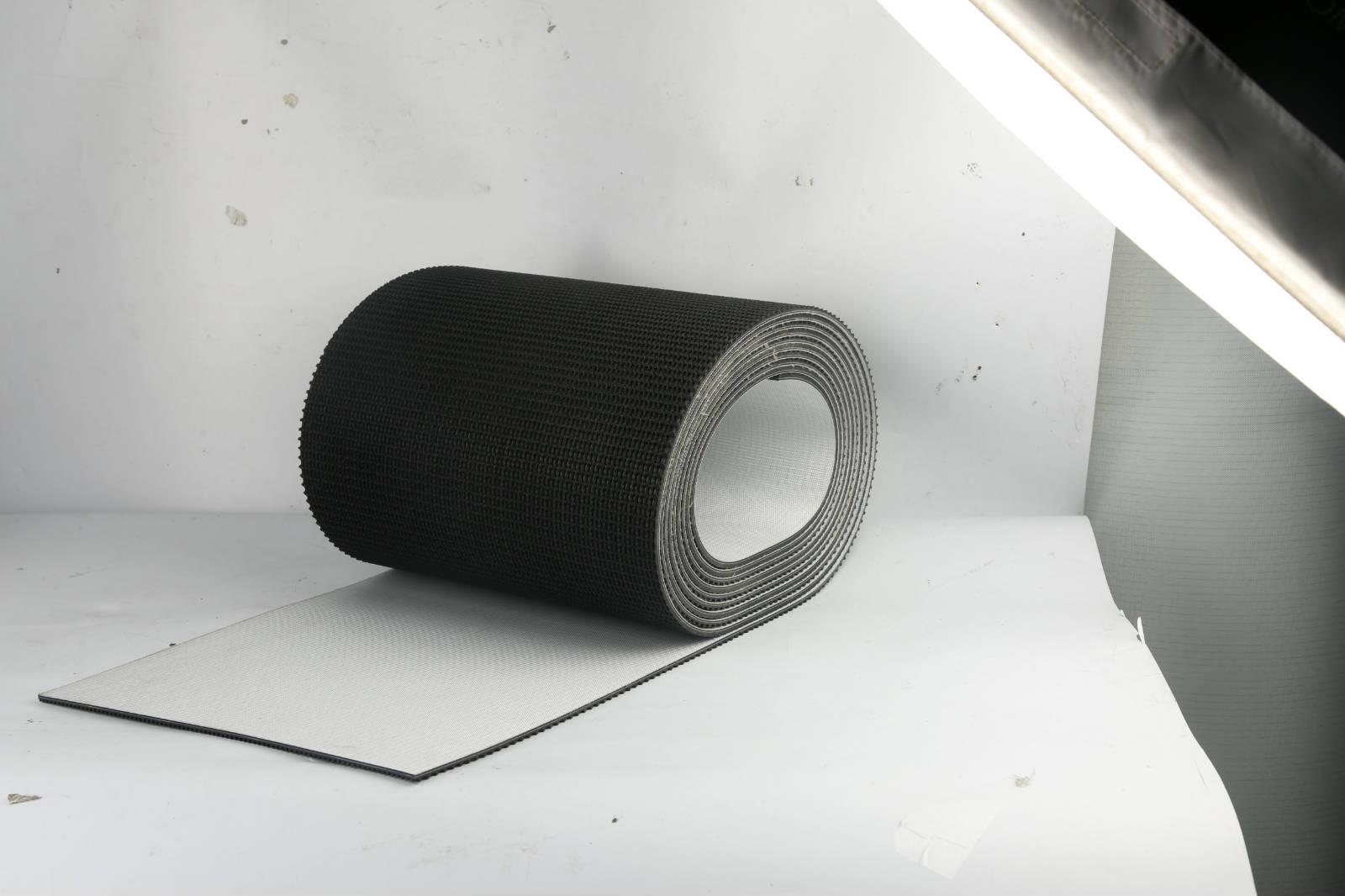 供应浙江专业的PVC输送带 黑色人字纹pvc输送带