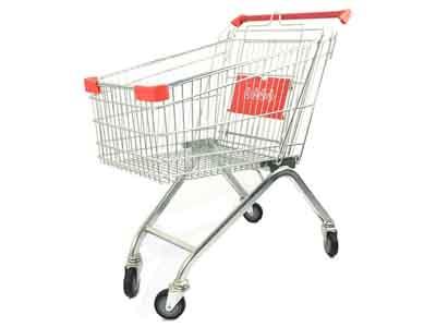 超市购物车到哪买好-咸阳超市购物车生产厂家