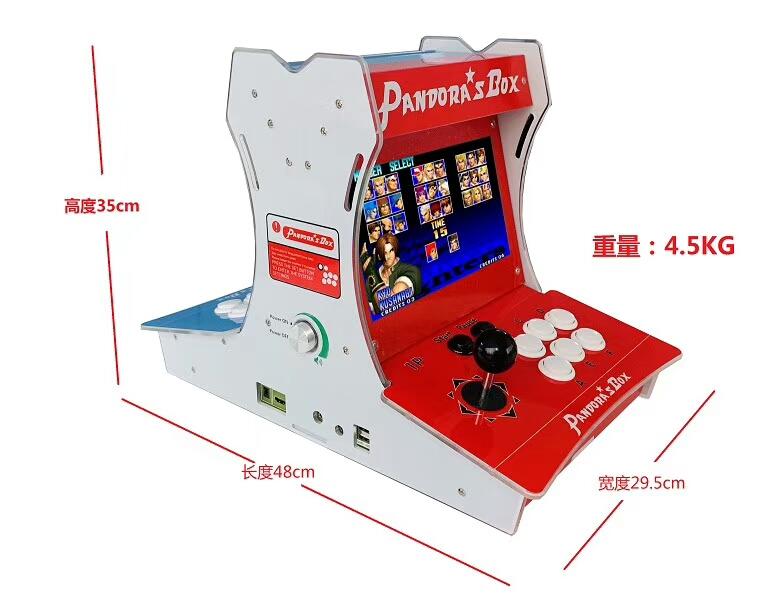 家用游戏机双人对打格斗带液晶小游戏机街机电玩设备