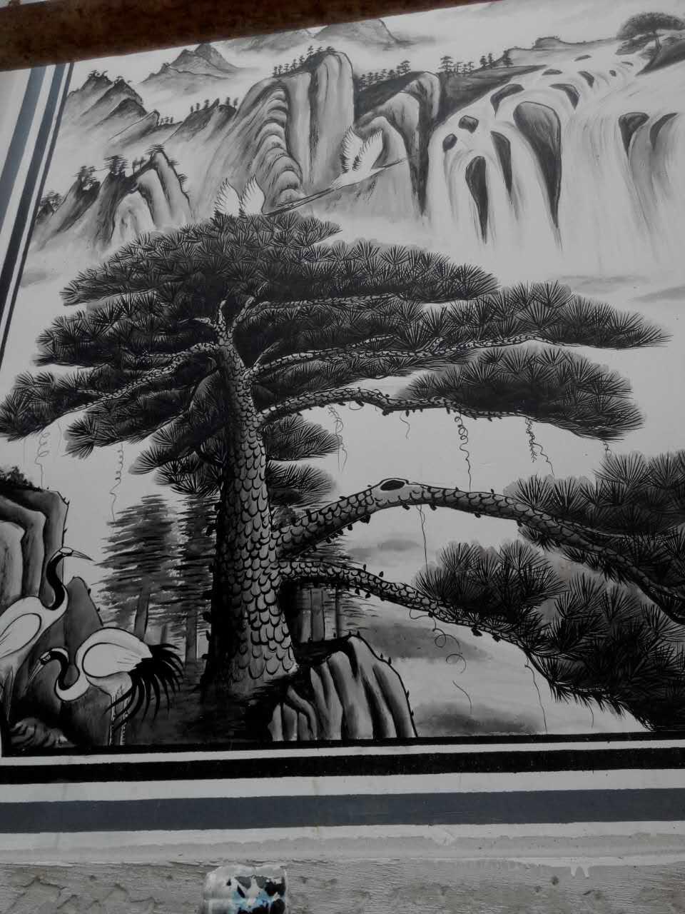 手绘墙画哪里有|高质量的墙画